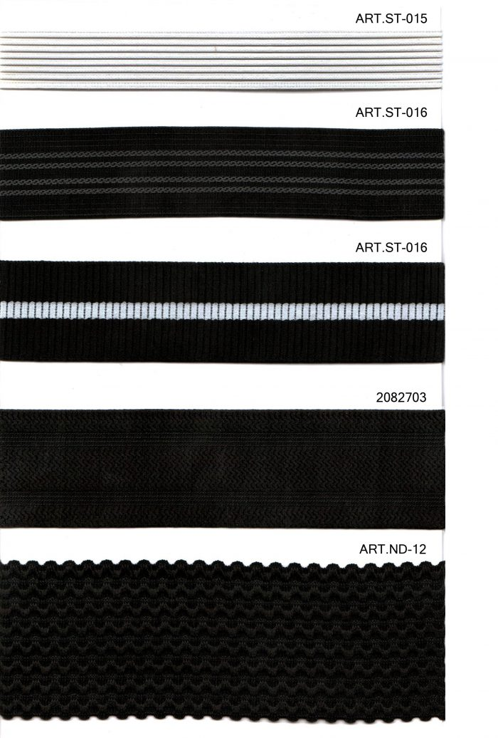STRIPE ELASTIC TAPES