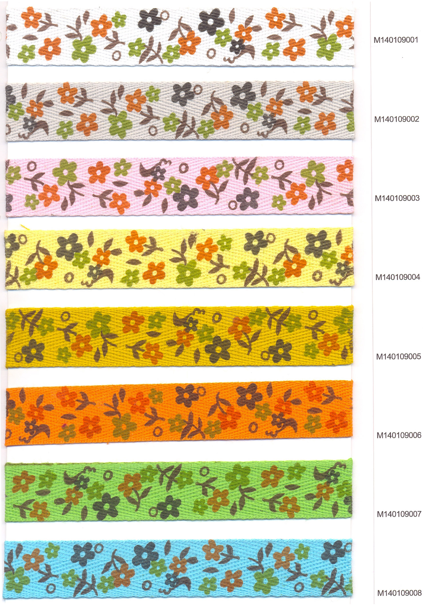 SPECIAL DESIGNED COTTON TAPES